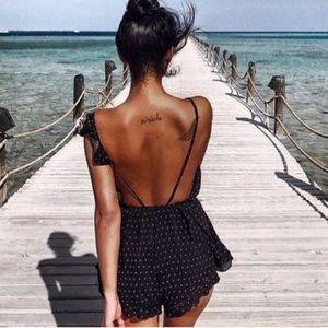 NWT FREE PEOPLE Intimately Black One of These Days